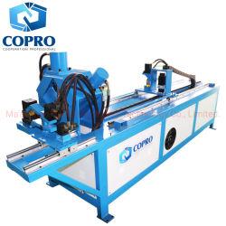 ماكينة قطع وحفر من الفولاذ ذي الزاوية التلقائية من Copro لتثبيت الماكينة البراشيم