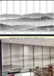 En gros la peinture de paysage magnifique décoration fenêtre aveugle du rouleau pour salle de séjour