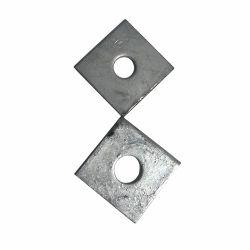 Junta de alta precisão Square clip de aço inoxidável calços espaçadores de metal anilha isolante