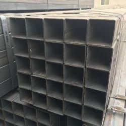 ASTM A500 Q195 Q235 S235jr walzte kalt,/warm gewalztes schwarzes getempertes ERW geschweißtes hohles Kapitel-Quadrat-Stahl-Gefäß
