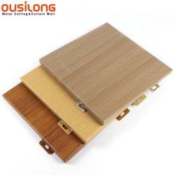 Внешние деревянные алюминий / алюминий стенам металлических фасадом оболочка панели отделки