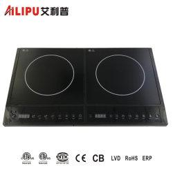Cheap Accueil appareil de cuisine cuisinière 2 brûleurs Double cuisinière électrique/Table de cuisson électrique/Table de cuisson à induction/cuisinière induction