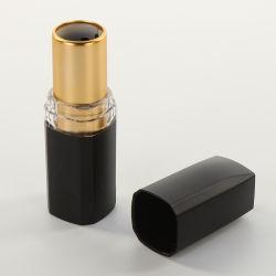 منتجات جديدة ساخنة ماكياج فاخرة الذهب البلاستيك ورقة فارغة ليبستيك أنابيب/حاوية/علبة/حاوية