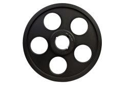 Ht250 강철 테이퍼 부싱 풀리 변속을 위한 검은색 인산염 처리 사이즈 Spz50-800
