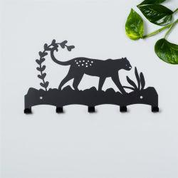 Décoration personnalisée Mur d'animaux crochet Vêtements Vêtements clé rack métallique