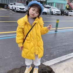 Neue Art der Winter-Mädchen, 95% unten, Umhüllung der modernen Kinder unten, Kind-Abnützung, Kind-Abnützung, scherzt Kleidung, Kind-Kleidung, Kind-Kleiden
