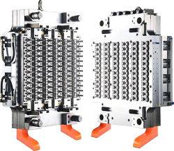 La longue queue utilisé moule de préforme en plastique PET avec injection de canaux chauds moule de préforme en plastique/Pneumatice Système de buse à obturation