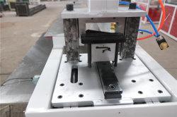 슈퍼마켓 가격 라벨 선반 42mm 2 컬러 소형 PVC 인기 있는 기계 판매를 위한 태그 홀더 생산 라인 프로필 Sj45 압출기 포함 러시아 시장