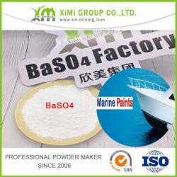 Xm-Ba13 94%のBaso4天候の抵抗海洋のペンキのための自然なバリウム硫酸塩
