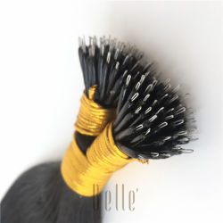 100% de alta calidad Human Hair Nano anillo Hair Extensions
