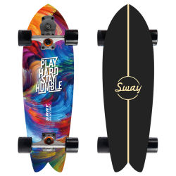 Surf роликовой доске Карвер земли серфинг Traning взрослых рыб и доски для серфинга долго роликовой доске