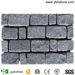 Le sésame noir/G684 basalte noir revêtements, Cube, de pierres pavés de pierre Pierre extérieur