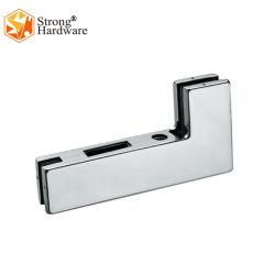 ステンレス製Steel201/304カバーアルミニウムボディガラスドアパッチの付属品