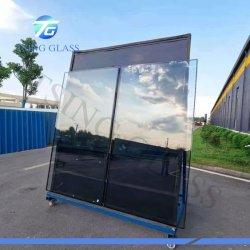 3 4 5 6 8 10 12 15 19mm de espesor en curva plana/borrar/bajo el hierro de color azul gris empapado de calor templado Tratamiento/vidrio de seguridad templado en la norma CE SGCC