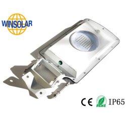 Panneau solaire de gros frais alimentée par batterie lithium de la rue du jardin de lumière LED intelligents