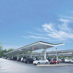 نظام وقوف السيارات الشمسية / نظام الطاقة كاربورت المستخدمة في موقف السيارات الكثير