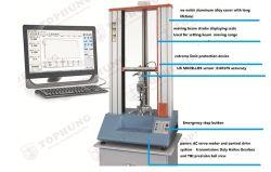 L'équipement mécanique électronique instrument universel de l'analyse de traction