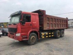 초침 무거운 팁 주는 사람을%s 사용된 중국 HOWO Sinotruk 덤프 트럭