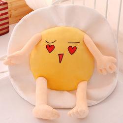 견면 벨벳 귀여운 계란에 의하여 채워지는 방석