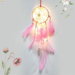 LED Dream Catcher Accueil ornements avec 20 voyants LED