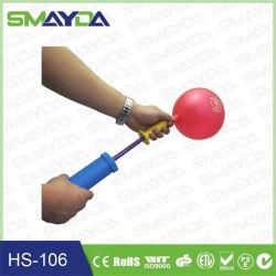 선전용 선물 풍선을%s 플라스틱 수동식 펌프 풍선 공기 펌프
