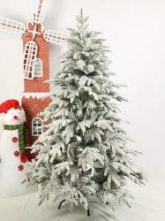 Горячая продажа декоративной волокнистую снег искусственные елки