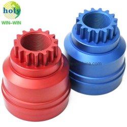Die kundenspezifische Metall-CNC-Prägemaschinerie-Aluminiumgang CNC maschinelle Bearbeitung der Befestigungsteil-Fahrzeug-Selbstmotorrad-maschinell bearbeitenteile hoch präzisieren