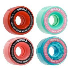 LED piscando PU roda para Skate Inline Skate do Rolete