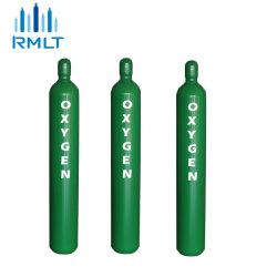40L 50L ISO Argon CO2 Azoto Helio Propano hidrogénio de etileno de oxigénio médica cilindro de gás