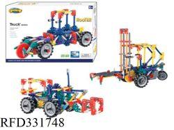 3 em 1 B/S movendo operados via Definir Building Block Brick brinquedo no carro de estrada do conjunto de bricolage brinquedo máquina