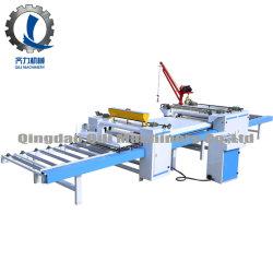 El papel de la Carpintería de PVC pegada Line/ o el papel de la máquina de laminado PVC/ Máquina laminadora de superficie de la placa de madera