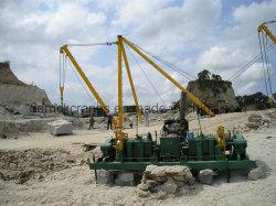 60 Ton Derrick guindaste para máquina de minerais na Pedreira (TLXC 60)