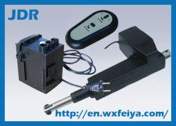 Материал из алюминиевого сплава, установите на мебель, 12В/24В линейный привод с Power Pack