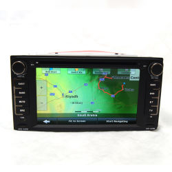 Lecteur de DVD audio de voiture GPS pour Toyota Runx Prado Vitz Terios couronne
