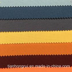 35% de algodão 65% poliéster Protecção à prova de tafetá condutivos de tecido FR