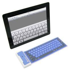 iPad Samsung Galaxy Tab/PC/iPhone/Smart Phones를 위한 Foldable Waterproof Mini Bluetooth Keyboard