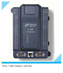 PLC programmabile del regolatore T-920 (2AI, 18DI, 12DO) di logica con RS485/232 ed Ethernet