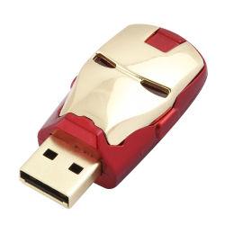 Чудо характера утюг Man USB флэш-накопитель USB 2.0/3.0 с светодиодный индикатор диска USB