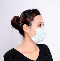 Chirurgische nichtgewebte Gesichtsmaske-schützende Wegwerfabnützung