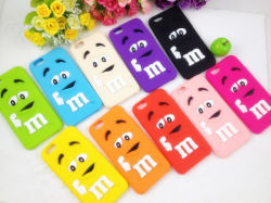 Design de M em silicone para iPhone/Samsung/HTC/Soney/LG / Moto