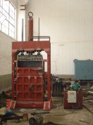 Presse hydraulique des sacs de tissage Fil de laine de la presse de rebut