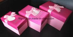 Stock de la compétitivité des prix haut de gamme de couleur rose coffrets cadeaux de nidification