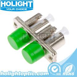 Adaptador de híbrido de metal LC dúplex Adaptador de fibra óptica FC
