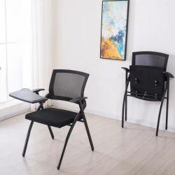 필기용 보드 접는 의자 학생 테이블과 의자 테이블 보드 교육 체어 있는 회의실 의자 한 개