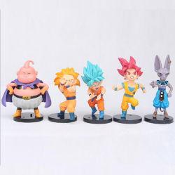 Japaneses mais populares de plástico de PVC de estilo anime Action Figure Collection Vinil Brinquedos Dragon Ball Z figuras de acção com detalhes de Alta