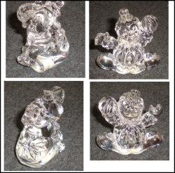 O OEM novo bela figura de Cristal Animal