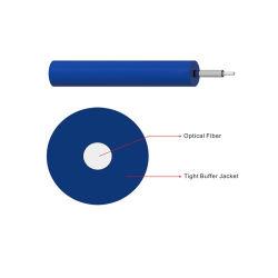 Для использования внутри помещений GJFJV 1/2/4/6/8/10 Core вплотную с буферизацией 2.0mm/3,0 мм Sc/LC/St/FC волоконно-оптический кабель перемычки для соединительных шнуров и отвода