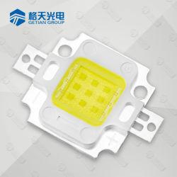 10W светодиоды высокой мощности с высокой световой эффективности для прожектора