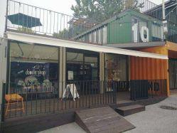 Memoria della Camera del container della parete di vetro del negozio di barbiere bella da vendere
