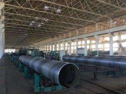 ASTM A252/A53 /Q235/T355/API 5L Grb/ Tubo SSAW/Spirally arco submerso de soldadura do tubo de aço